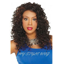 VIVICA A FOX New Futura Synthetic Lace Front Wig - AQUA