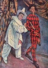 Paul Cezanne: Pierrot and Harlequin. Print/Poster (1010200)