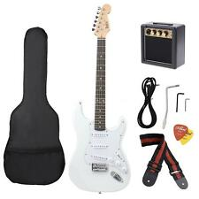 Electric Guitar Basswood with Electric Guitar Amplifier Gig Bag Picks Strap H9G1