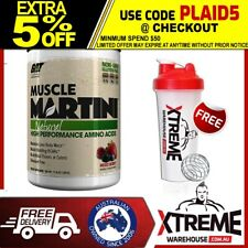 GAT MUSCLE MARTINI 30 SRV WATERMELON // BCAA INTRA WORKOUT RECOVERY AMINO ACIDS