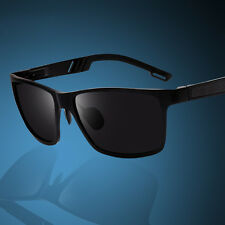 Mens Aluminum Polarized Sunglasses Sports Driving Glasses Mirrored Pilot Eyewear