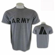 US Army Military Issue IPFU PT Physical Fitness t shirt short sleeve Large NEW!!