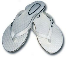 Ladies Diamond Rubber Thongs Size - New - Thongs Rubber White