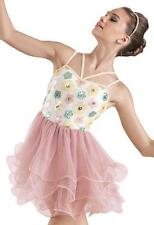 Dance Costume Large Child & XXLC Lyrical Ballet Flower Solo Competition Pageant