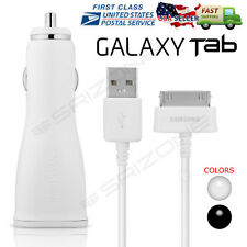 """OEM Original Travel Car Charger for 7/8.9 /10.1""""For Samsung Galaxy Tab 2 Tablet"""