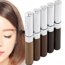 WOW 6 Colors Long Lasting Makeup Eyebrow Tinted Brow Gel Tame Mascara Brush HOT