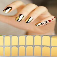 Stickers Golden Foil Decal Beauty Wraps Armour Nail Silver Smooth Art Patch