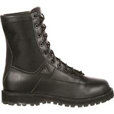 """Rocky 2080 Portland 8"""" Lace-to-Toe Waterproof Tactical Military Combat Boots"""