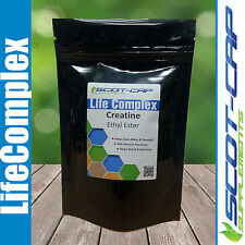 Creatine Ethyl Ester (CEE) 500mg Capsules - 60/120/240/360 - Gain Mass/Recovery
