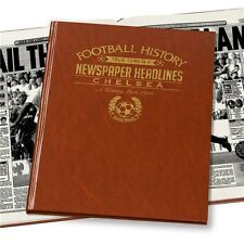 Personalised Chelsea FC Newspaper Football Book Fan Memorabilia Gift