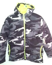 FADED GLORY - Youth Girls/Boys Size S, L, XXL CAMO-Bubble Jacket Hoodie SPECIAL