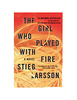The Girl Who Played with Fire by Stieg Larsson Hardcover Book (English)