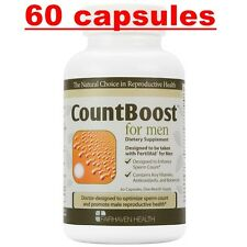 CountBoost For Men Fairhaven Health Fertility Supplement Count Boost 60 Capsules