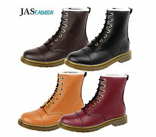 Mens Casual Boots Lace UP Chelsea Fashion Shoes Faux Leather Retro Size UK 6-12