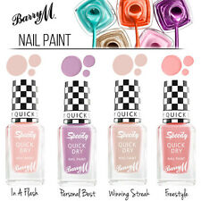 Barry M Makeup Nail Polish Speedy Nails Collection - Nail Varnish / Nail Paint