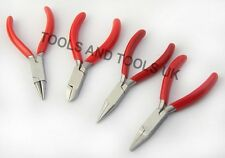 Mixed Jaws Nose Pliers Cutters Tool Beading Jewelry Making Wire Work Mini 3.0''