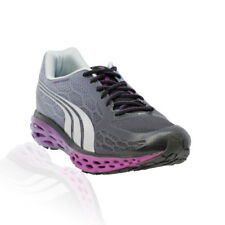 Puma - Bioweb Elite V2 Running Shoe - Black/Grey Dawn/Fluo Pink