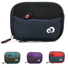 "Small Portable Neoprene Pouch for 3"" - 4.4"" Point and Shoot Cameras Cover Case"
