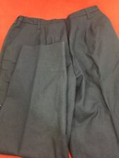 ONE PAIR DSCP Navy Blue Women's Dress Pants Slacks Air Force Uniform