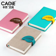Mini Business Ruled PU Leather Candy Notebook Diary Planner Journal Memo Notes