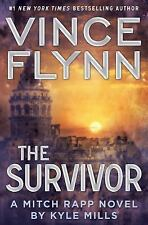 A Mitch Rapp Novel: The Survivor 12 by Vince Flynn and Kyle Mills (2015, Hardcov