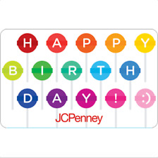 JCPenney Gift Card Lollipop $25 $50 or $100 - Email delivery