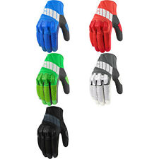 Icon Mens Overlord Mesh Motorcycle Riding Gloves - Choose Size & Color