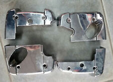 Honda Shadow VT750 Cylinder Head Over Head Covers Front and Rear Chrome - used
