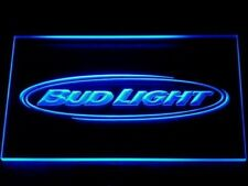 Bud Light sign Beer home Bar Pub LED Neon Sign On/Off 7 Colors wall decor mens g
