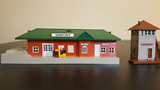 HO Scale Train Station and Tower