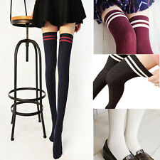 Sales High Stockings Over Knee Socks Cylinder College Wind Compression Stockings