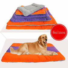 Extra Large Size Fleece Pet Dog Cat Puppy Bed Mat Pad Kennel Cushion House ON