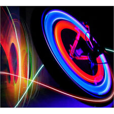 Fine Vogue Bright Bike Bicycle Cycling Car Wheel Tire Tyre LED Spoke Light Lamp