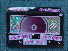 Create your own Baby Banner -Boy or Girl - New Baby - Baby Shower