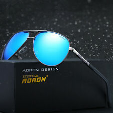 Mens Fashion Polarized Driving Aviator Driving Outdoor Sports Sunglasses Shades