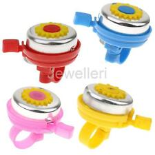 Plastic Metal Kids Bike Bicycle Cycling Bell Ring Horn for Boys Girls Childs
