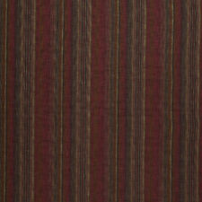 NEW iLiv SMD Maya Striped Wool Effect in Chilli Curtain and Upholstery Fabric