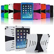 Heavy Duty Hybrid Shockproof Hard Case Cover Stand for Apple iPad Mini 1 2 3 4