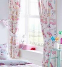 LINED CURTAINS PAIR OF PENCIL PLEAT TAPE TOP CURTAINS Festival glamping caravans