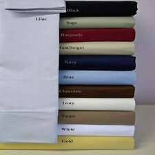 New Bedding Collection 1000 TC Egyptian Cotton US Twin Size All Solid Colors