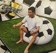 Inflatable Waterproof Football Gaming Camping Lounge Chair Sofa Bean Bag