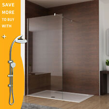 800/900/1000/1100/1200X2000 New Frameless Shower Screen Single Fixed Glass Panel