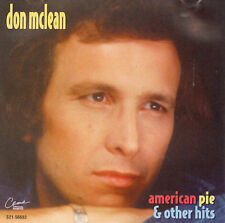 Don Mclean : American Pie & Other Hits CD (1995)