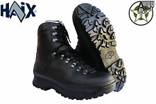 HAIX Alpine Boot Mountain Boots Combat Boots ORIGINAL BW Utility Boots Black NEW