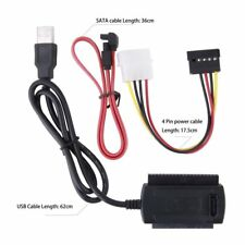 Converter Cable SATA/PATA/IDE to USB 2.0 Adapter for 2.5''/3.5'' Hard Drive DC