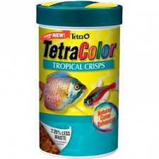 Tetra COLOR CRISPS TROPICAL FISH FOOD Clear Water *German Brand – 38g Or 77g