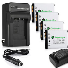 EN-EL10 ENEL10 Battery Charger For Nikon Coolpix S210 S500 S510 S520 S3000 New