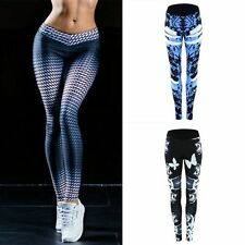 Faahion Women Yoga Sports Trouser Workout Gym Leggings Fitness Athletic Pants UK