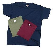 3 Pack Fruit of the Loom men's Coloured t shirts, Great Value Multi-Pack