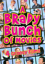 A Brady Bunch Of Movies Collection (DVD, 2011, 4-Disc Set) 4 Groovy Films